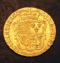 London Coins : A133 : Lot 460 : Half Guinea 1766 S.3732 NVF with some old thin scratches