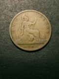 London Coins : A133 : Lot 677 : Penny 1861 Freeman 18 dies 2+D VG Rare, we note that there was no example in the Roland Harris o...