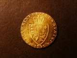 London Coins : A134 : Lot 2011 : Guinea 1795 S.3729 EF and lustrous, with a few light contact marks