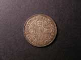 London Coins : A134 : Lot 2253 : Shilling 1668 Second Bust ESC 1030 EF toned