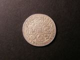 London Coins : A134 : Lot 2281 : Shilling 1724 Roses and Plumes ESC 1181 About VF