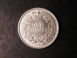 London Coins : A134 : Lot 2306 : Shilling 1834 ESC 1268 NEF with most of the obverse legend double struck