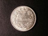 London Coins : A134 : Lot 2316 : Shilling 1865 ESC 1313 Die Number 118 About EF