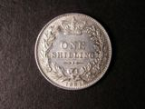 London Coins : A134 : Lot 2326 : Shilling 1881 ESC 1338 approaching EF