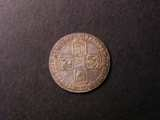 London Coins : A134 : Lot 2364 : Sixpence 1746 LIMA ESC 1618 VF and nicely toned