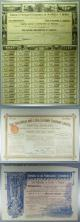 London Coins : A135 : Lot 101 : Spain, Railways (11) Barcelona Traction Light & Power Co.Ltd. 1913 (3) & 1925 no coupons...