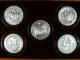 London Coins : A135 : Lot 1258 : Great Seals of the Realm (2 sets) the first 'Nineteenth Century', an impressive five p...