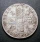London Coins : A135 : Lot 1688 : Halfcrown 1713 Roses and Plumes ESC 584 Fine