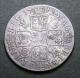 London Coins : A135 : Lot 1936 : Shilling 1712 Roses and Plumes ESC 1159 About Fine once cleaned now retoned