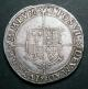 London Coins : A136 : Lot 1640 : Crown Elizabeth I Seventh Issue mintmark 1 (1601) S.2582 About VF with good portrait detail, and...