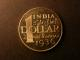 London Coins : A138 : Lot 1208 : India Dollar 2 Rupees 8 Annas 1936 Edward VIII Retro Pattern Fantasy by INA Ltd. Obverse, a left...