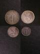 London Coins : A139 : Lot 2032 : Maundy Set 1766 ESC 2414 comprising Fourpence EF, Threepence GEF/EF, Twopence EF or near so ...