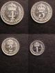London Coins : A139 : Lot 2084 : Maundy Set 1953 ESC 2570 Lustrous A/UNC to UNC