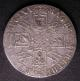 London Coins : A140 : Lot 1716 : Crown 1692 QVARTO ESC 83 VF scarce thus, the obverse bold, with an edge nick by DEI and some...