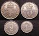 London Coins : A140 : Lot 2084 : Maundy Set 1921 ESC 2538 GVF