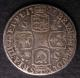 London Coins : A140 : Lot 2168 : Shilling 1723 WCC ESC 1180 About Fine for wear with some heavy surface marks, Rare