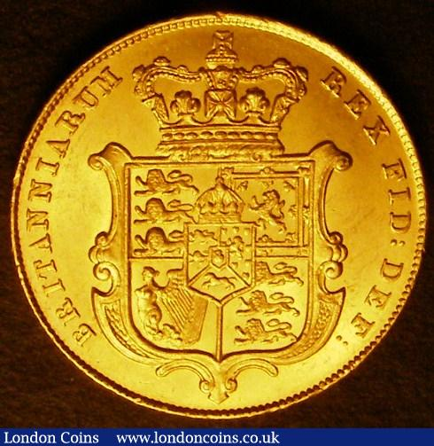 Sovereign 1826 Marsh 11 EF/GEF the obverse with some contact marks : English Coins : Auction 141 : Lot 2111
