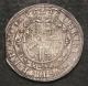 London Coins : A142 : Lot 1836 : Halfcrown Charles I York Mint EBOR type 7 horse's tail shows between legs, Reverse oval garn...