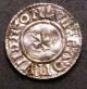 London Coins : A142 : Lot 1866 : Penny Aethelred II Last Short Cross type S.1154 moneyer EADMUND, London Mint GVF with a long fla...