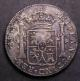 London Coins : A142 : Lot 2091 : Dollar George III Oval Countermark on 1795 Mexico City 8 Reales a contemporary counterfeit as ESC 12...