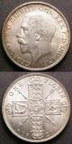 London Coins : A142 : Lot 2202 : Florins (2) 1911 ESC 929 Davies 1731 UNC lightly toned with a few small rim nicks, 1921 ESC 940 ...