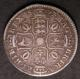 London Coins : A142 : Lot 2294 : Halfcrown 1677 ESC 479 VG/NF and problem-free