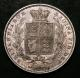 London Coins : A142 : Lot 2385 : Halfcrown 1839 ESC 672 the rare currency issue WW incuse with 2 plain fillets VF, rated R4 by ES...
