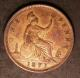 London Coins : A142 : Lot 2683 : Penny 1871 Freeman 61 dies 6+G VF or near so once cleaned now retoned