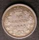 London Coins : A142 : Lot 865 : Canada 10 Cents 1858 KM#3 EF