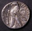 London Coins : A143 : Lot 1387 : Ancient Phonecia Tetradrachm, struck at Tyre Obverse Head of Melqarth, Reverse Eagle standing Phoeni...