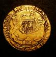 London Coins : A143 : Lot 1461 : Half Sovereign Henry VIII with HENRI..C.. 8... legend mint mark Martlet 1547 - 1551 posthumous coina...