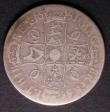 London Coins : A143 : Lot 1568 : Crown 1681 TRICESIMO TERTIO ESC 64 VG Scarce