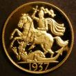 London Coins : A143 : Lot 1693 : Crown 1937 Edward VIII Pattern in 18 carat Gold by G.Hearn ESC 391D Bust facing right (as illustrate...