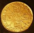 London Coins : A143 : Lot 1821 : Guinea 1714 Anne S.3574 About Fine