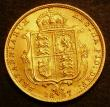 London Coins : A143 : Lot 1902 : Half Sovereign 1887 Jubilee Head Imperfect J in J.E.B Marsh 478C EF