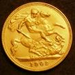 London Coins : A143 : Lot 1913 : Half Sovereign 1902 Matt Proof 3974A nFDC with very minor cabinet friction on the reverse