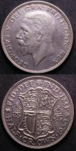 London Coins : A143 : Lot 2054 : Halfcrowns 1930 ESC 779 (2) F/GF and NF/F