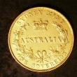 London Coins : A143 : Lot 864 : Australia Sovereign 1870 Sydney Branch Mint Marsh 375 NVF with some contact marks