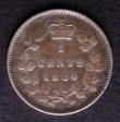 London Coins : A143 : Lot 886 : Canada 5 Cents 1884 Near 4, pointed end KM#2 About Fine, Rare