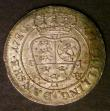 London Coins : A143 : Lot 903 : Denmark 12 Skilling 1720 CW KM#521 UNC and lustrous with a pleasing olive tone