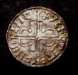 London Coins : A144 : Lot 1182 : Penny Cnut Quatrefoil Type S.1157 Lincoln Mint, moneyer VLFCETEL MO LINC NEF, stated by the vendor t...