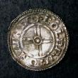 London Coins : A144 : Lot 1185 : Penny Cnut Short Cross type S.1159 moneyer COLGRIM ON LINCO NEF on a wavy flan