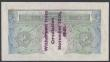"London Coins : A144 : Lot 120 : One pound Peppiatt B239A Guernsey overprint series E03A 006585, ""Withdrawn from circulation Nov..."
