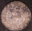 London Coins : A144 : Lot 1252 : Shilling Elizabeth I Sixth Issue S.2577 mintmark Hand VF on a full round flan, stated by the ticket ...