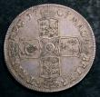 London Coins : A144 : Lot 1335 : Crown 1707E SEXTO ESC 102 Fine/Good Fine
