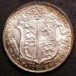 London Coins : A144 : Lot 1735 : Halfcrown 1924 ESC 771 UNC the obverse attractively toned