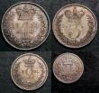 London Coins : A144 : Lot 1783 : Maundy Set 1831 ESC 2436 EF to A/UNC