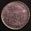 London Coins : A144 : Lot 645 : Mexico 4 Reales 1740 Mo MF KM#94 EF