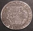 London Coins : A145 : Lot 1290 : Shilling Charles I York Mint S.2873 mintmark Lion Fine, Ex-Yorkshire collection, Ex-Glendinings 13/7...