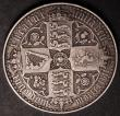 London Coins : A145 : Lot 1368 : Crown 1847 Gothic UNDECIMO ESC 288 Fine